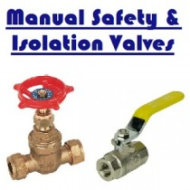 Manual Safety and Isolation Valves