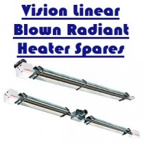 Vision Radiant Linear Blown Burners