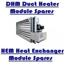DHM/HEM Duct Heater/Heat Exchanger Modules