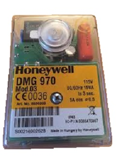 HONEYWELL/SATRONIC GAS CONTROL BOX  DMG 970 MOD 3 /110 V