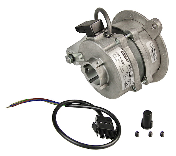 BURNER MOTOR 70W 1PH  REAR HUB DRIVE MO2-1-70-03