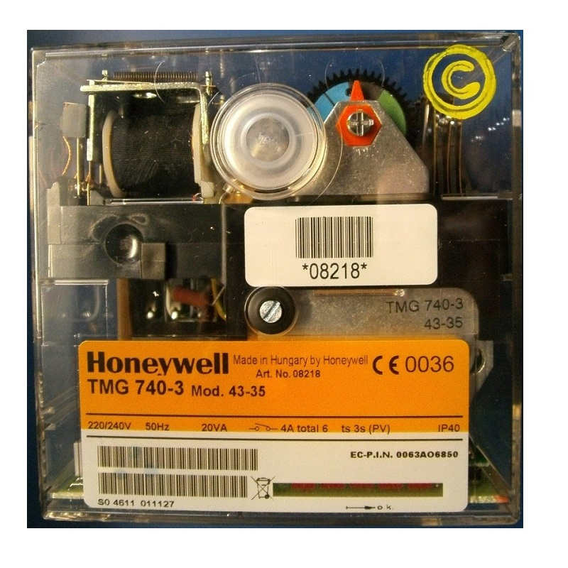 HONEYWELL/SATRONC CONTROL BOX   TMG 740 MOD43-35/240V 08218U