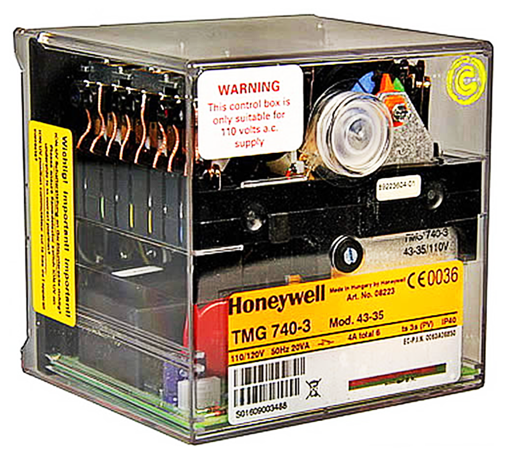 HONEYWELL/SATRONIC CONTROL BOX TMG 740 MOD 43-35 / 110V