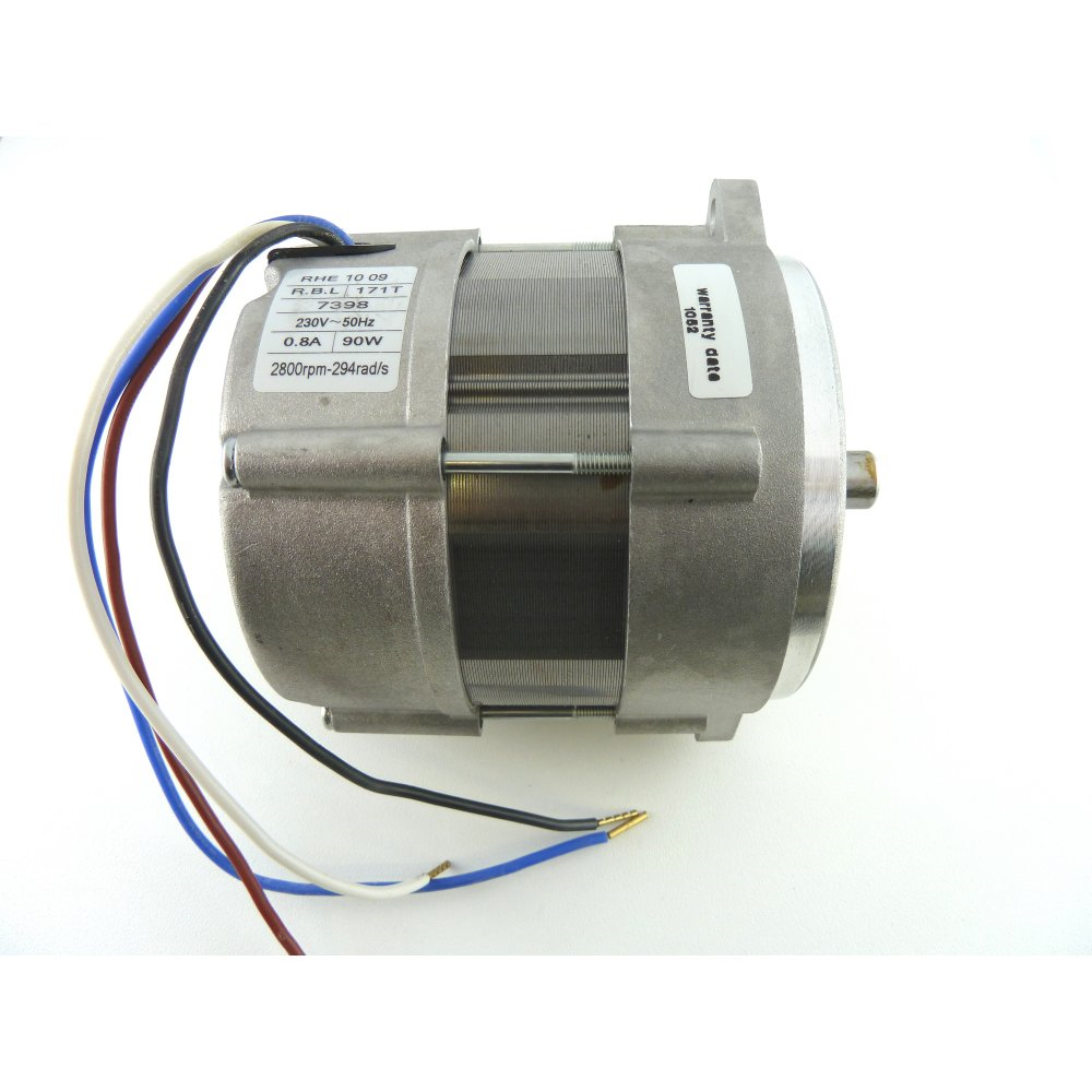 RIELLO 3007971 BURNER MOTOR 90W 1PH  RBL17.T USED ON R40 G3,G5,G10 GS3,GS5,GS10 (OLD SPEC)