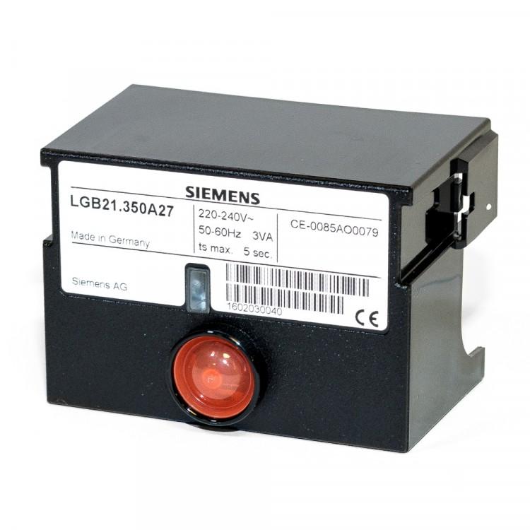 SIEMENS CONTROL BOX LGB21.350A27
