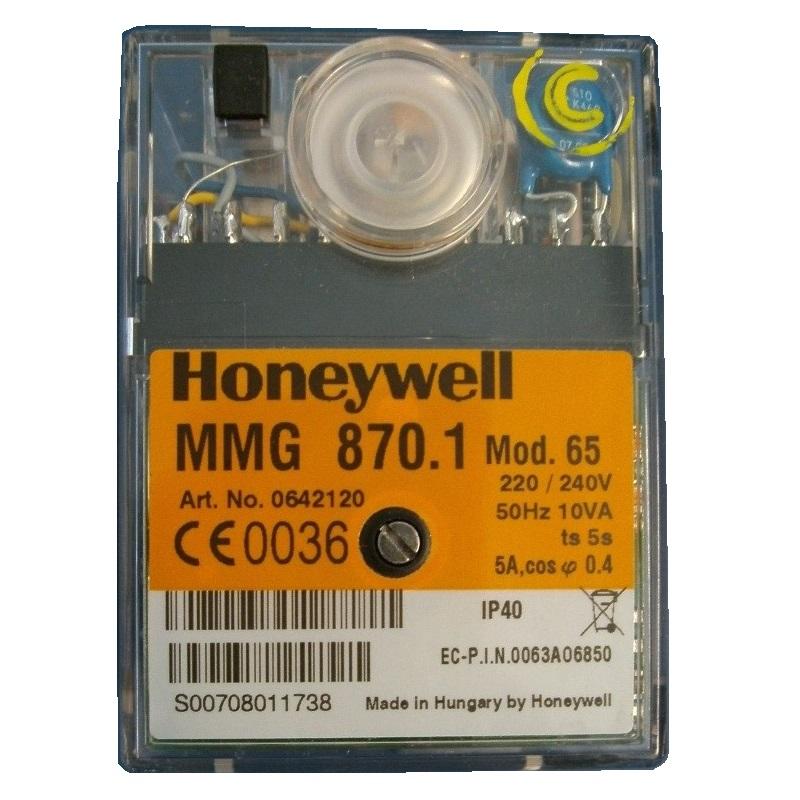 HONEYWELL /SATRONIC CONTROL BOX MMG 870 MOD 65/240V