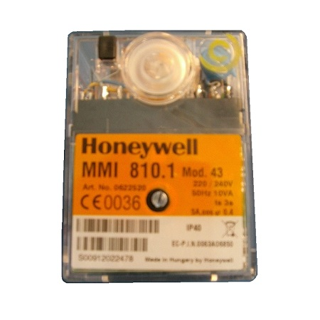 HONEYWELL/SATRONIC CONTROL BOX  MMI 810.1 MOD 43 /240V